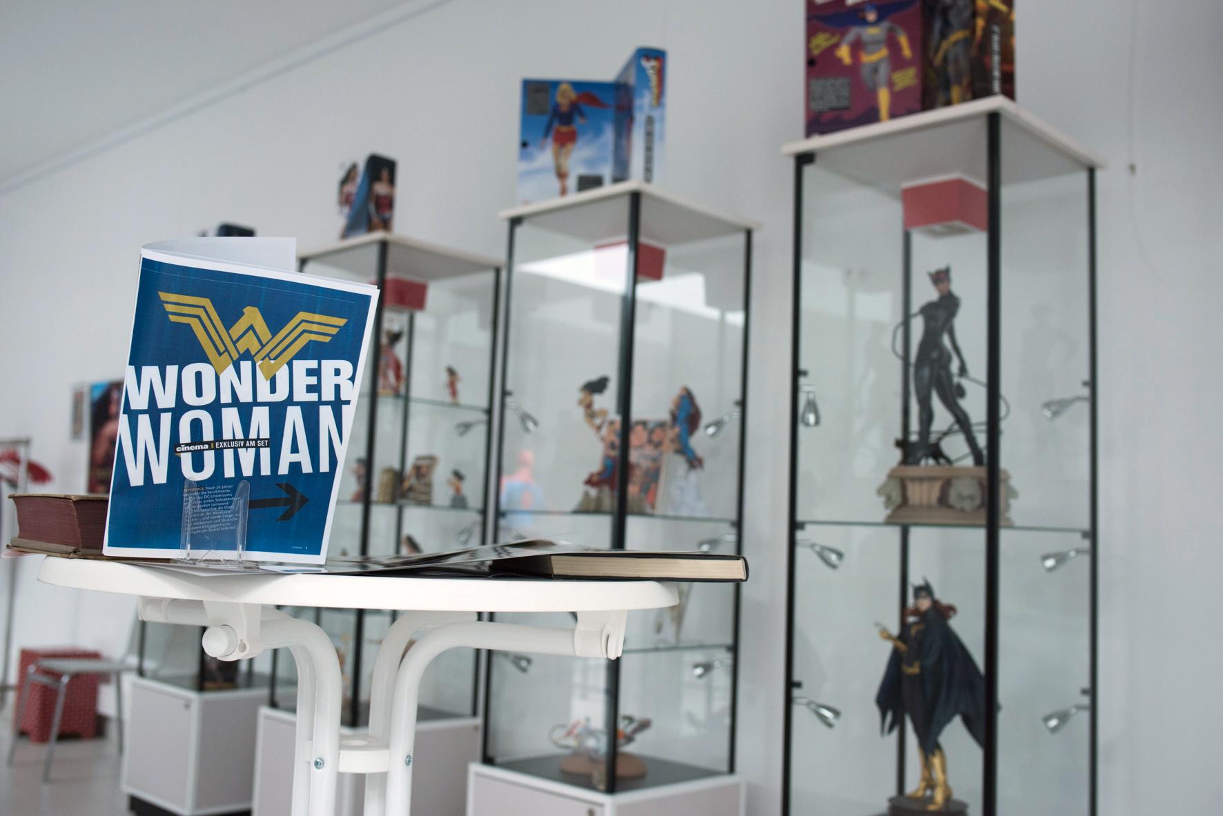 Wonder Woman Ausstellung im Jahr 2017 im Cöln Comic Haus