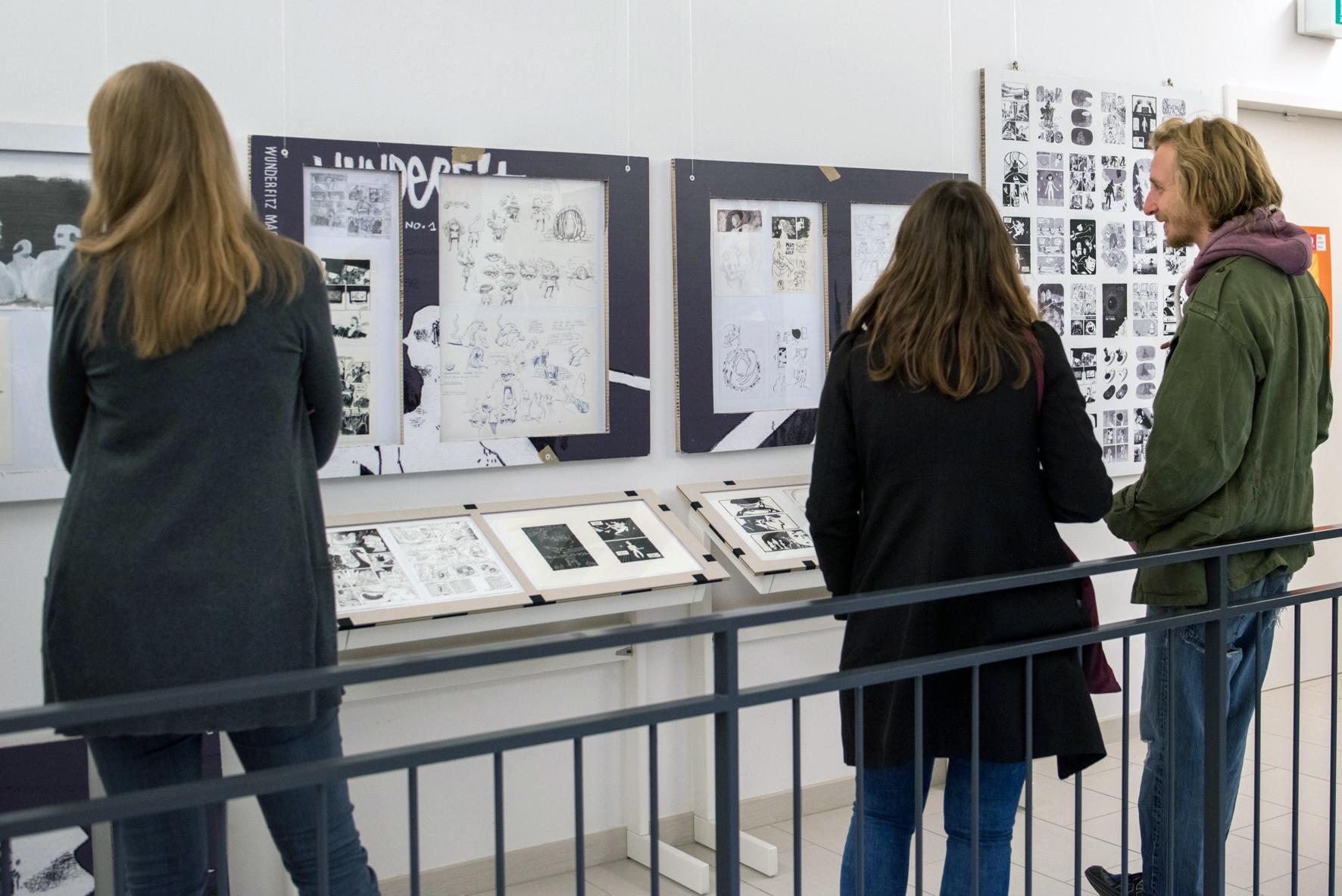 """Museumsnacht 2017:""""Die besten deutschen Comics!"""" Vernissage: Die Max-und-Moritz- Preisträger 2016 sind auf Ausstellungstour"""