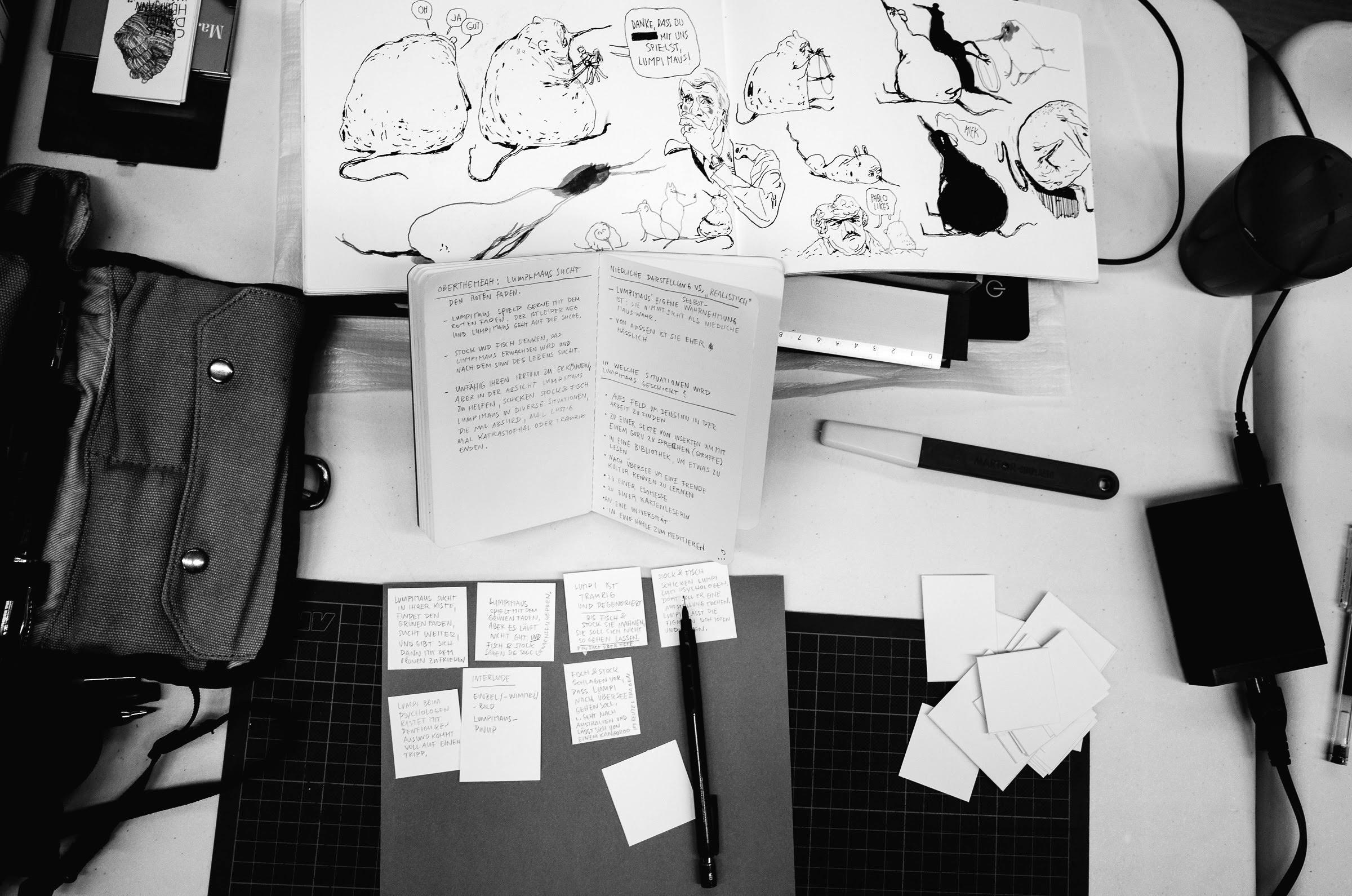 Impressionen vom 24 Stunden Comic-Tag