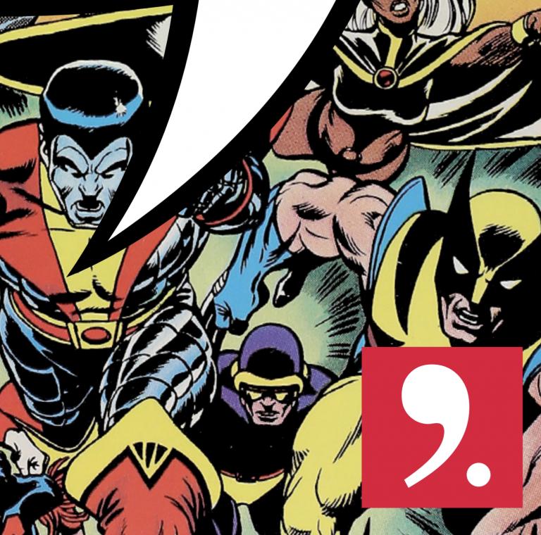 """Der Titelausschnitt des CCH-Programmheftes für 2019-20 zeigt das Cover von Giant Size X-Men #1 """"New Genesis"""""""