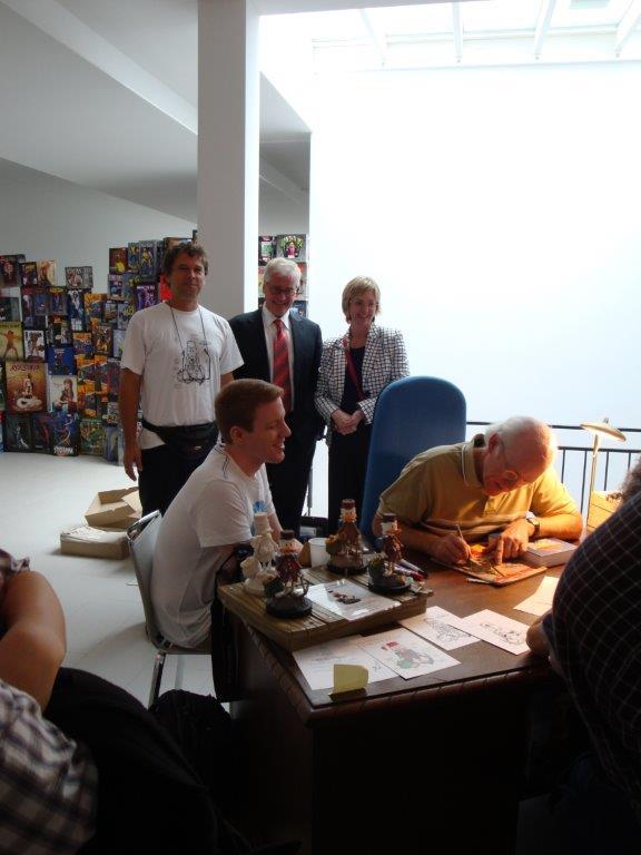 Don Rosa Oktober 2014 Signierstunde Stiftung Ausstattung-144