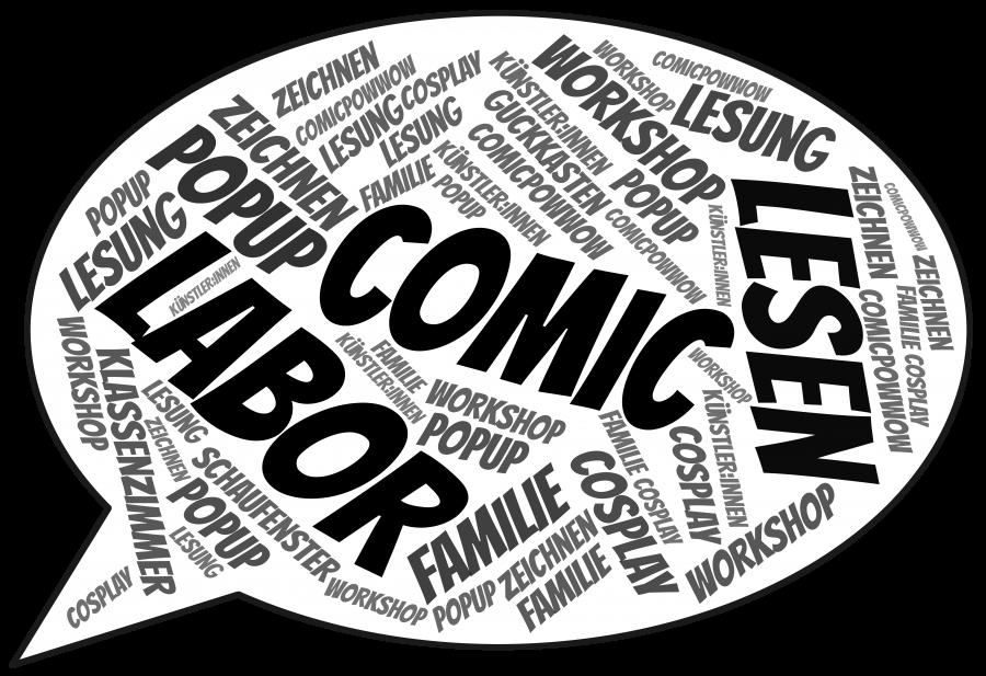 CCH Comic Lab Bubble mit Rand